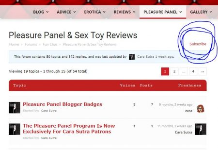 How To Become A Pleasure PanelReviewer