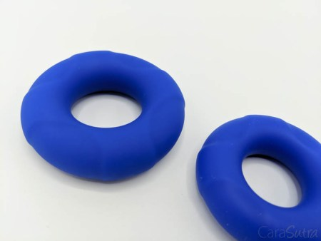 Lynk Loop XL Silicone Blue Cock Ring Set Review