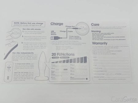 Screaming O Rechargeable Vibrating Butt Plug Review