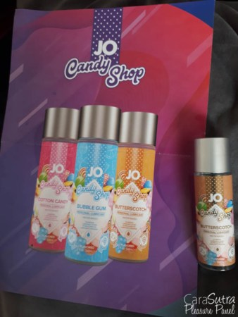 System JO Candy Shop H2O Butterscotch Lube Review