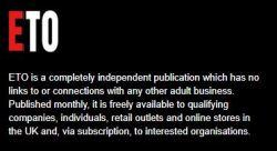 Erotic Trade Only: ETO Magazine, Show & Awards Info