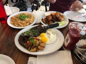 カイムキのBIG CITY DINERの食事