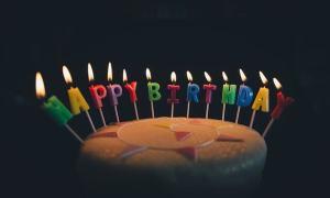 誕生日のケーキのイメージ