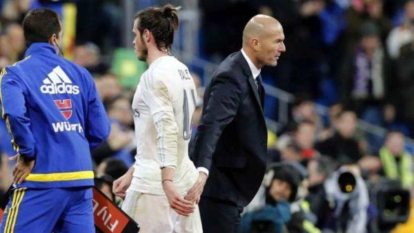 Bale Tampaknya Tidak Dipercaya Lagi Oleh Zinedine Zidane
