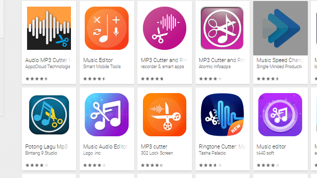 Aplikasi Edit Lagu