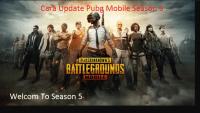 Cara Update Pubg Mobile Season 5