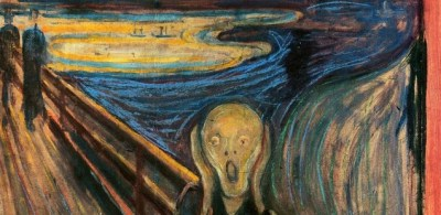 the painting of the man screaming