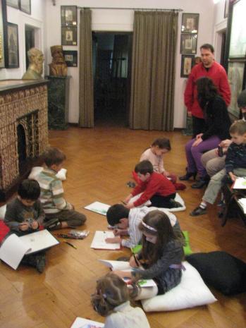 Ecologia pe intelesul copiilor, atelier Muzeul Hartilor (02)