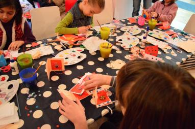 Atelier copii Martisoare Global Mindscape la Anaid Art Gallery 2