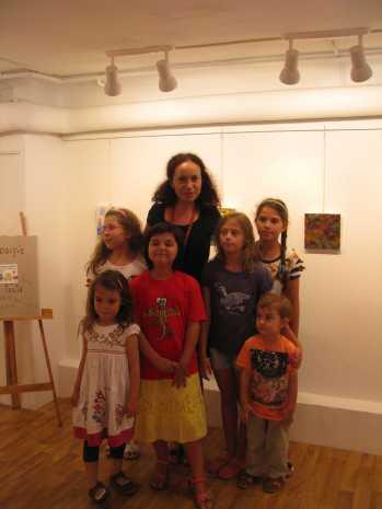 expozitie copii Caravana Muzeelor Muzeul Vasile Grigore 1