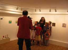 expozitie copii Caravana Muzeelor Muzeul Vasile Grigore 2