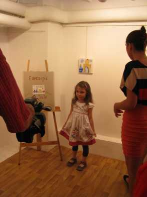 expozitie copii Caravana Muzeelor Muzeul Vasile Grigore 4