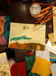 Atelier gratuit copii tehnica mixta colaj 3