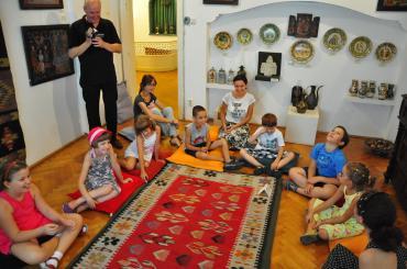 ateliere copii Caravana Muzeelor Muzeul Vasile Grigore 1