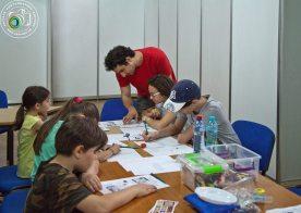 Scoala de vara la Muzeul Municipiului Bucuresti atelier banda desenata 4