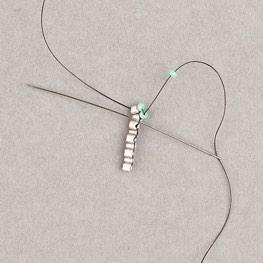 Scalloped Brick Stitch Bracelet