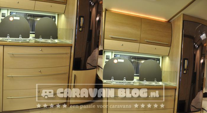 Fendt Tendenza 465 SFB Caravan Keuken