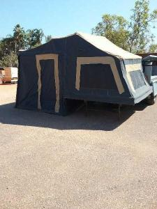 Adventure off-road camper trailer 2011