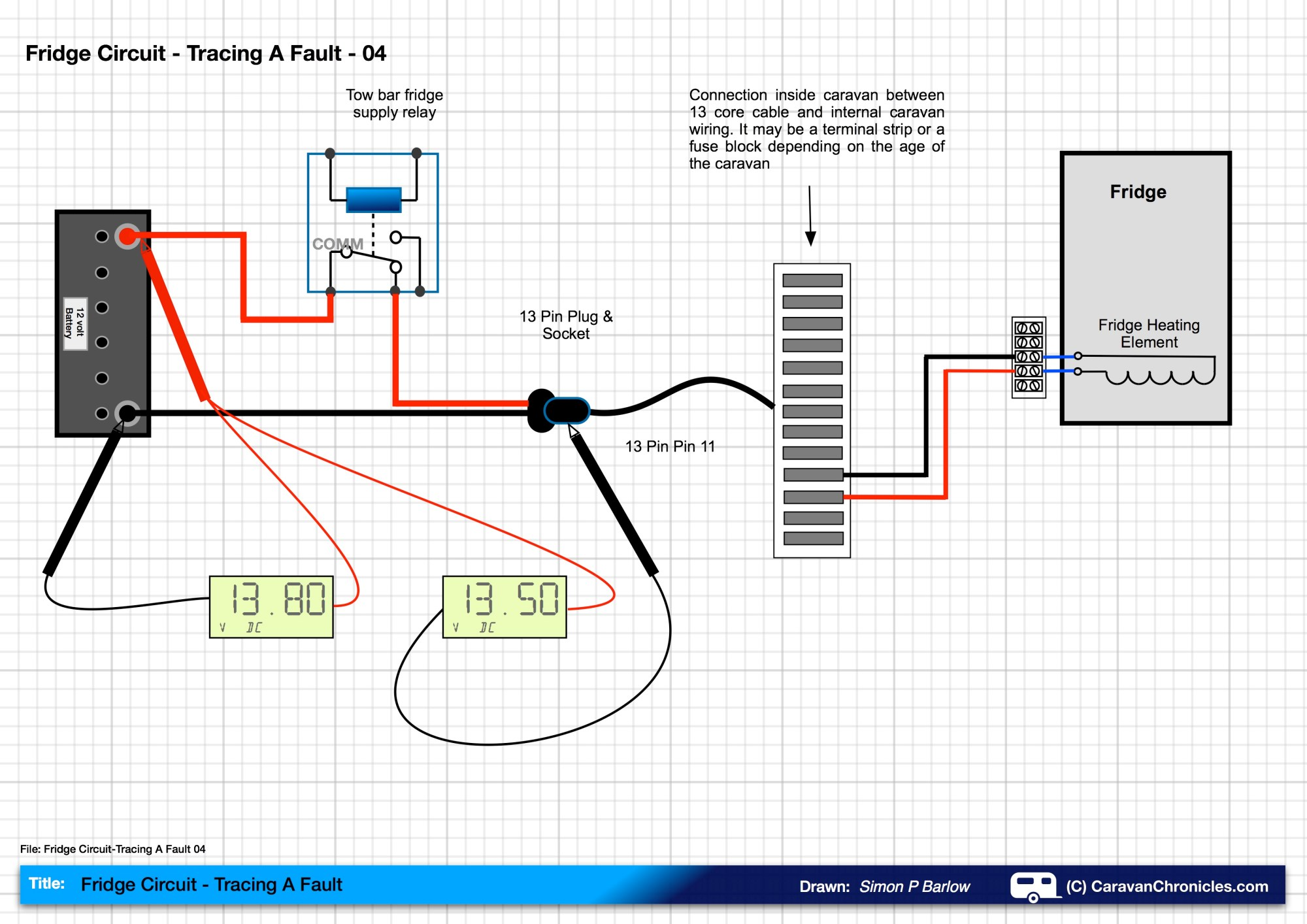 hight resolution of fridge circuit tracing a fault 04