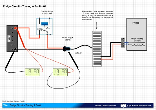 small resolution of fridge circuit tracing a fault 04