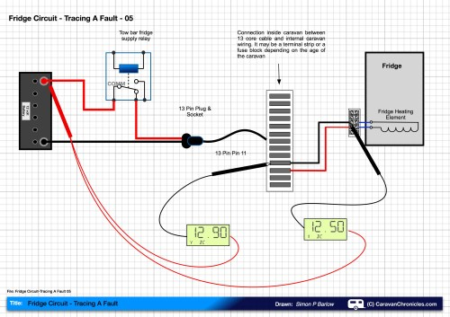 small resolution of fridge circuit tracing a fault 05