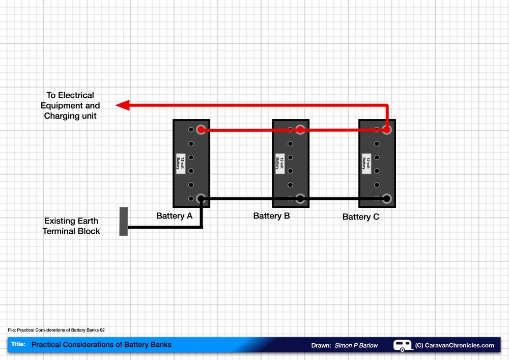 medium resolution of wiring 3 batteries in parallel wiring diagram today wiring 3 12 volt batteries in series