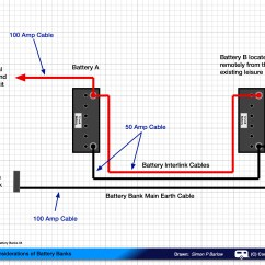 Two Battery Wiring Diagram For Cat5 Crossover Cable How To Connect Batteries In Parallel  Part 2
