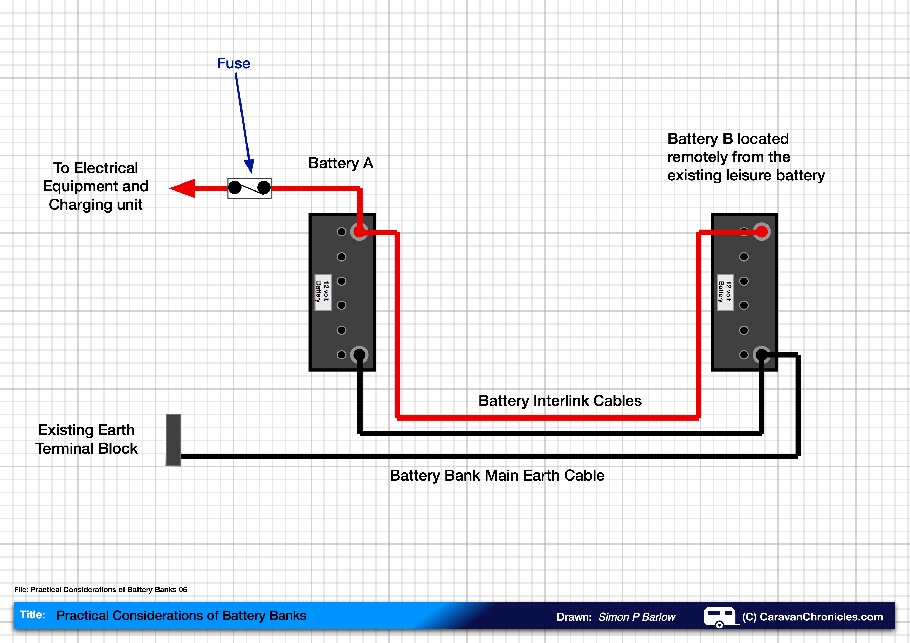 parallel battery wiring diagram woody stem how to connect two batteries in  part 2