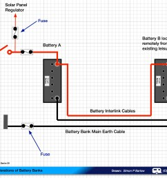 camper battery fuse box 5 how to connect two batteries in parallel u2013 part 2 caravan chroniclespractical considerations of battery [ 3508 x 2481 Pixel ]