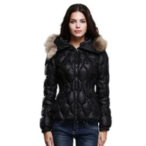 Female Jacket Slim Parka Women's Winter Jackets 2017 New Short Thick Winter Coats Fur Collar Hooded Solid Ladies Down Coat Y779