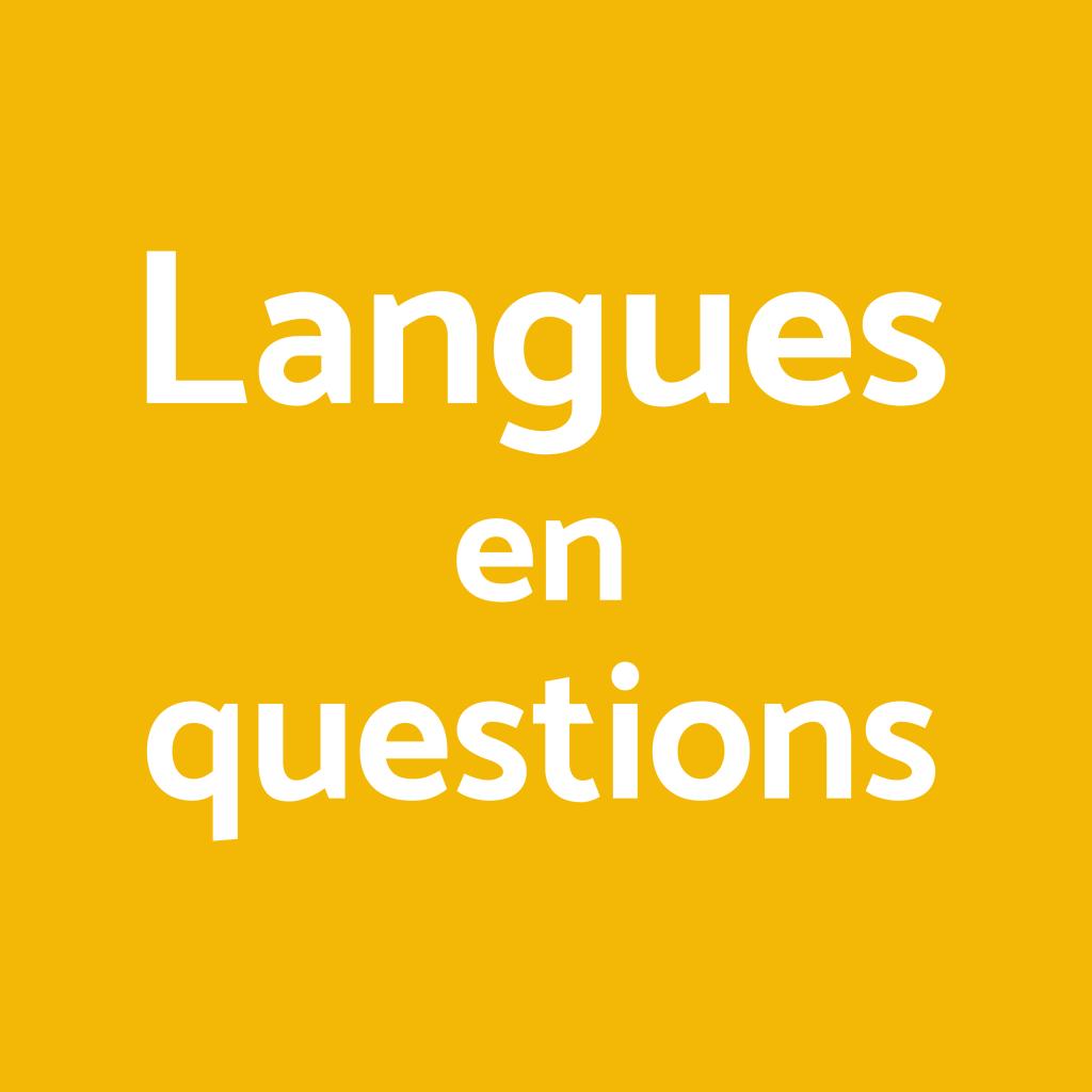Langues en questions