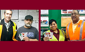 March 2014 Safety Incentive Program Winners
