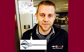Dave Cox wins Corvette Stingray Pin Recognition