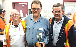 Tom Knable wins Safety Star Award