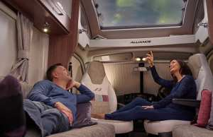 Discover new horizons in the Bailey Alliance motorhome