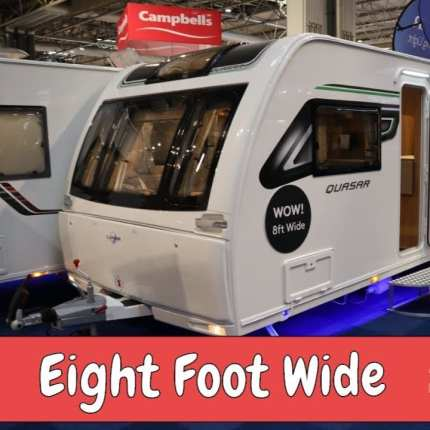 Eight Foot Wide Caravans