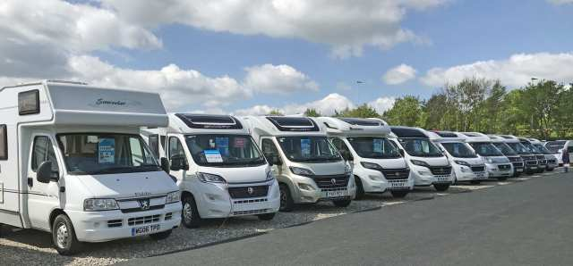 Part of the range of motorhomes available from Salop Leisure.