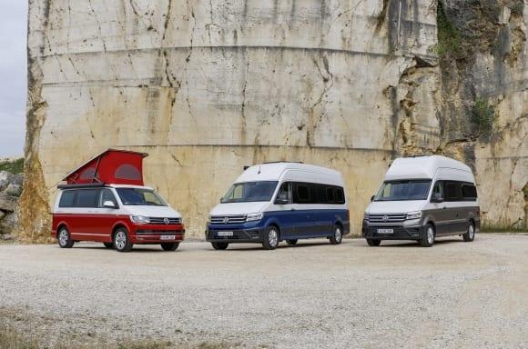 VW Campervan Range