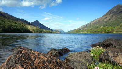 Loch Leven and the Pap of Glencoe NR Balbirnie Par