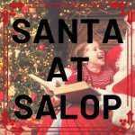 Busy time for Santa at Salop