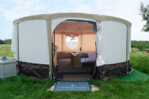 Experience Freedom from the CaMC - Yurts