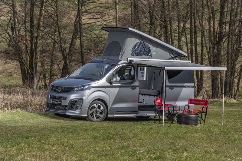 Wellhouse Vauxhall Vivaro Blighty campervan1