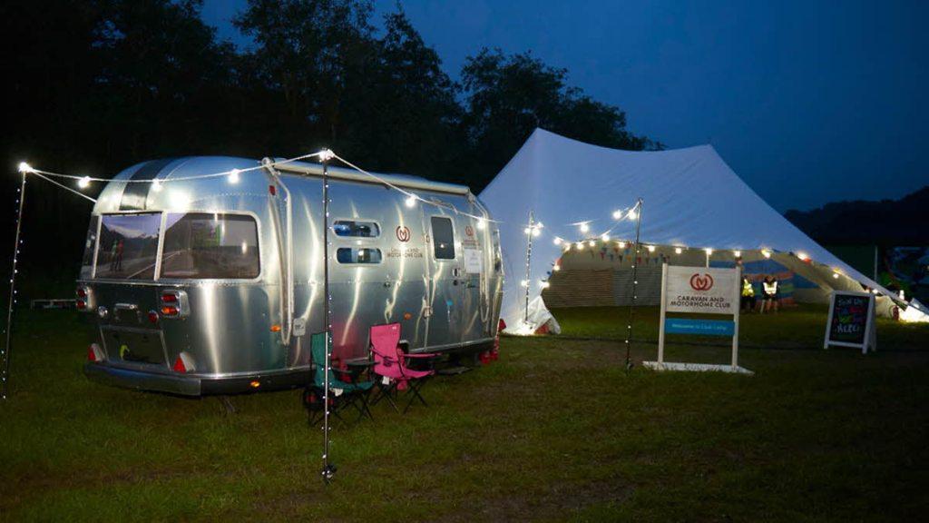 pop-up campsites