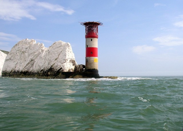 UK's Seven Natural Wonders. The Needles, Isle of Wight