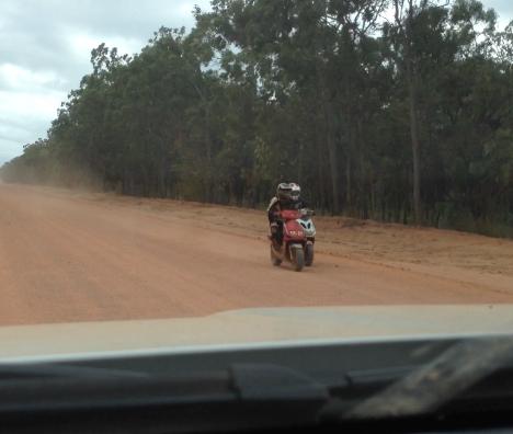 Mopeds! Fricken mopeds!