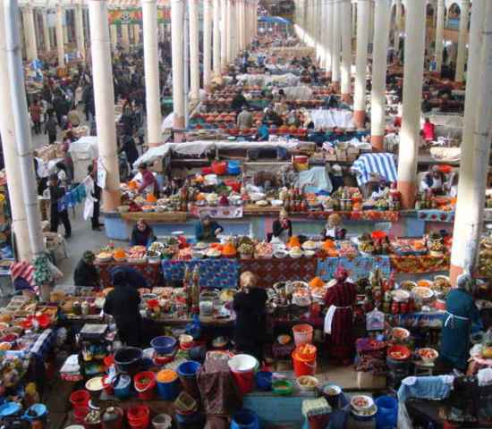 panjshanbe-market