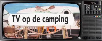 TV op de camping