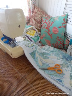 Sewing in Small Space