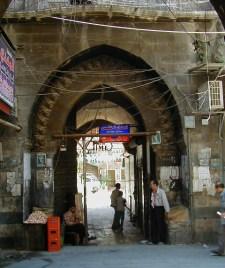 Silk Han (in the 16th c) main portal
