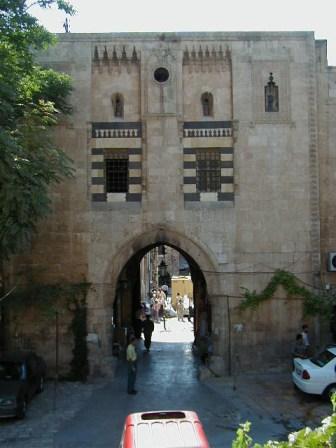 Vizier's Han - main court facade